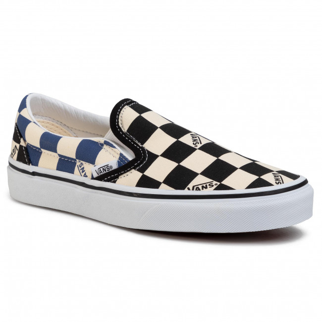 Plimsolls VANS Classic Slip On VN0A4U38WRT1 (Big Check) BlackNavy