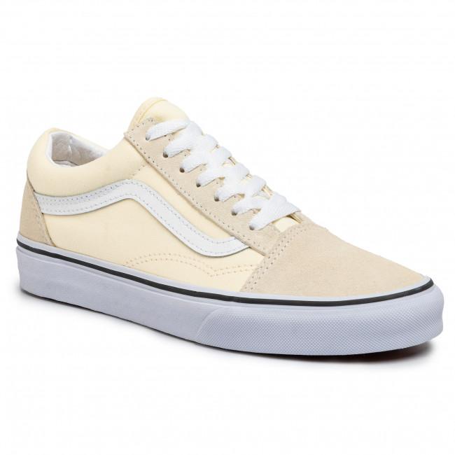 Plimsolls VANS Old Skool VN0A4U3BFRL1 Classic WhiteTrue White