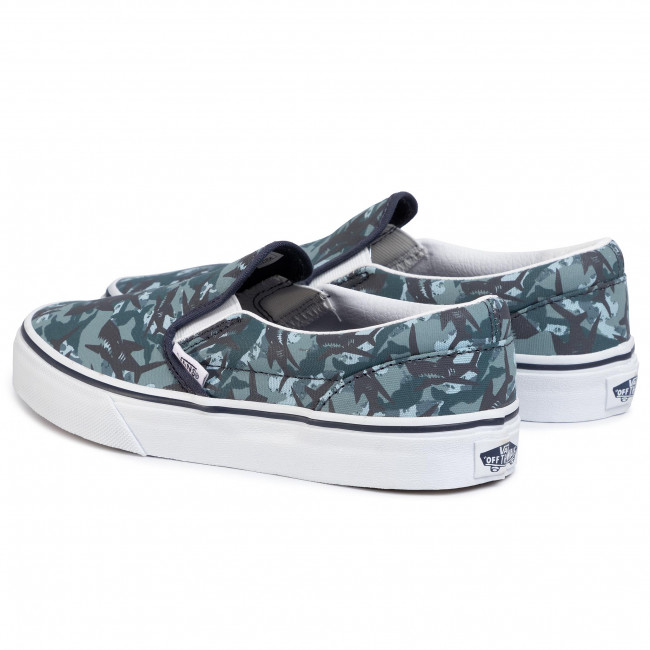 Plimsolls VANS Classic Slip On VN0A4UH8WKY1 (Animal Camo)Prsnnghttrwt