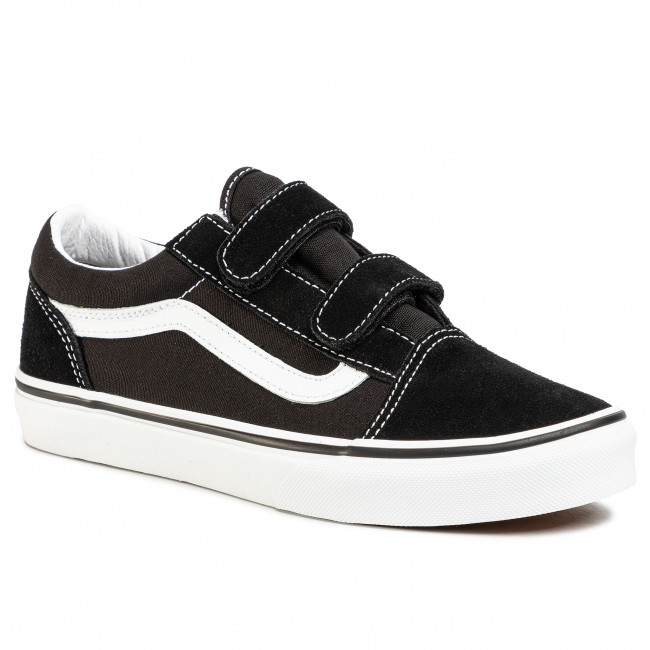 Plimsolls VANS Old Skool V VN0A4UI16BT1 BlackTrue White