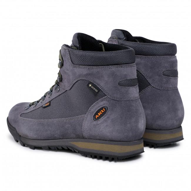 Details about  /Aku Mio GTX Gore-tex Men/'s Shoes Size Eu 42 UK 8 USA 8.5 Black//Green
