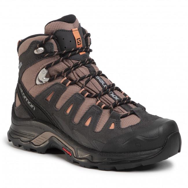 Trekker Boots SALOMON Quest Prime Gtx W GORE TEX W 406837 20 V0 Deep TaupePhantomTawny Orange qVKC0