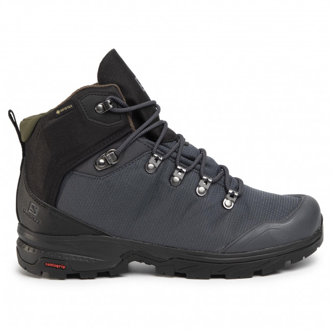 Trekker Boots SALOMON Outback 500 Gtx GORE TEX 406924 27 G0 EbonyBlackGrape Leaf Ua9WM