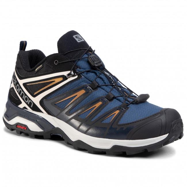 Trekker Boots SALOMON X Ultra 3 Gtx GORE TEX 408142 Sargasso SeaDark SapphireBistre wN2yy