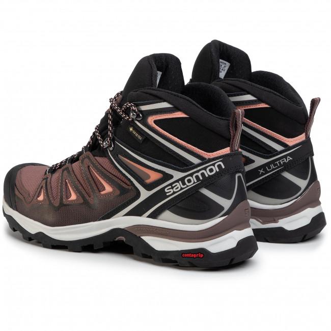 Trekker Boots SALOMON X Ultra 3 Mid Gtx W GORE TEX 408144 Dmfs6