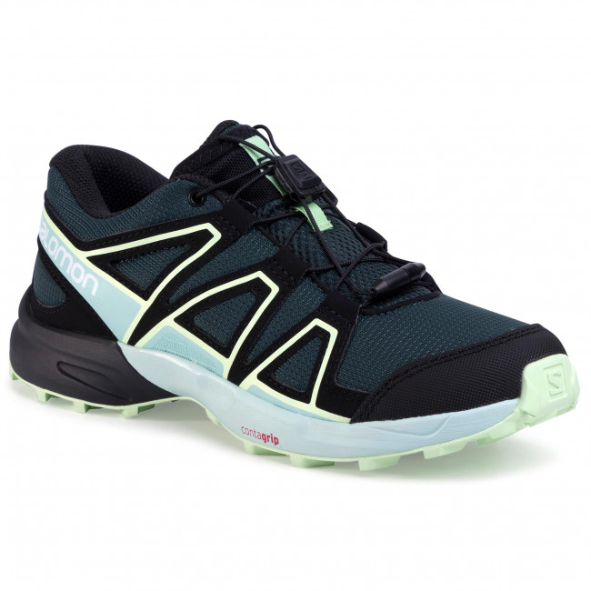 Shoes SALOMON - Speedcross J 409588 15 M0 Green Gables/Icy Morn/Partina Green