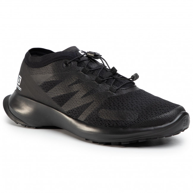 Shoes SALOMON - Sense Flow 409643 29 W0  Black/Black/Black