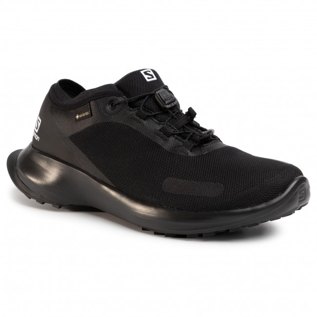 Footwear SALOMON - Sense Feel GTX GORE-TEX 409663 29 W0 Black/Black/Black