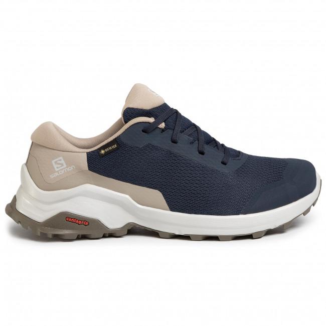 Shoes SALOMON X Reveal Gtx GORE TEX 409692 27 M0 Navy BlazerVintage KakiBungee Cord