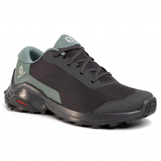 Shoes SALOMON X Reveal W 409729 22 M0 PhantomBalsam GreenBlack
