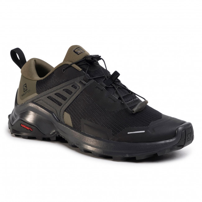 Shoes SALOMON - X Raise 410412 28 M0 Black/Grape Leaf/Phantom