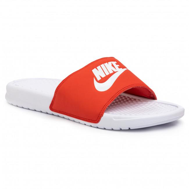reasonably priced uk availability sale online Slides NIKE - Benassi Jdi 343880 106 White/White/Mystic Red ...