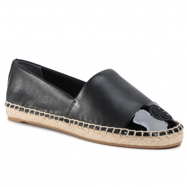 Espadrilles TORY BURCH - Color Block Flat Espadrille 61194 Perfect Black/Perfect Black 004 - Espadrilles - Low shoes - Women's shoes | efootwear.eu