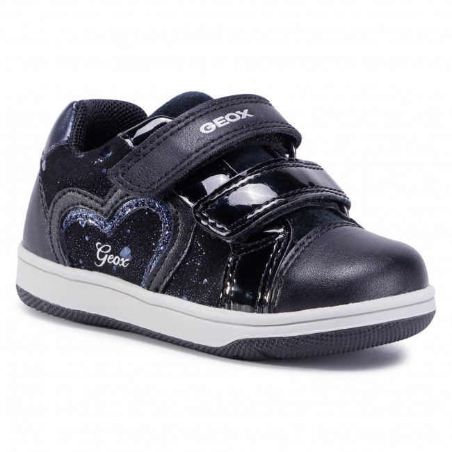 Trainers GEOX - B N.Flick G. A B041HA 007BC C9999 M Black