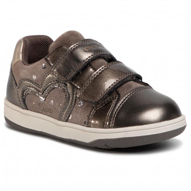 Shoes GEOX - B N. Flick G. A B041HA 007NF C9006 S Smoke Grey
