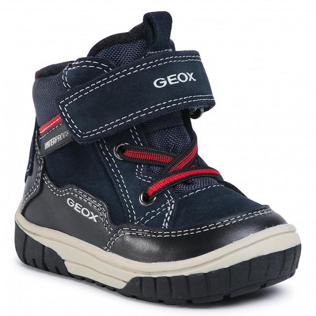 Boots GEOX - B Omar B. B042DA 02285 C0045 M Navy/Black