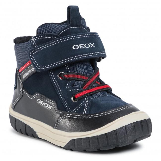 Boots GEOX - B Omar B. B042DA 02285 C0045 S Navy/Black