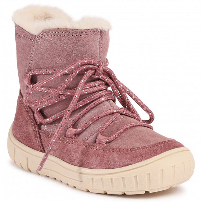 Knee High Boots GEOX - B Omar G. B B042GB 07722 C8025 S Rose Smoke