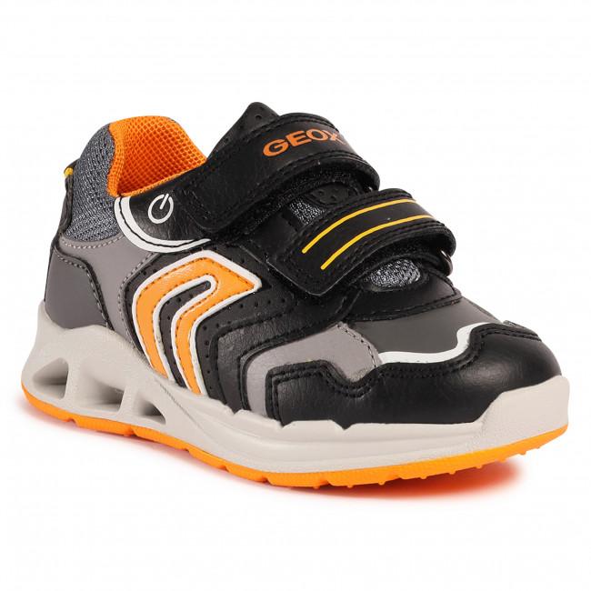 Trainers GEOX - B Dakin B. A B042PA 0BUBC C0038 S Black/Orange