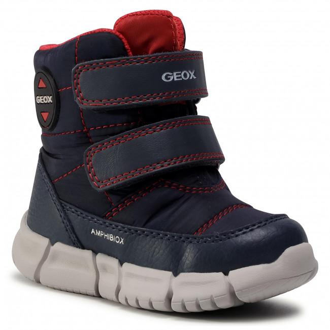 Snow Boots GEOX - B Flexyper B. B Abx C B043PC 0LUBU C0735 M Navy/Red