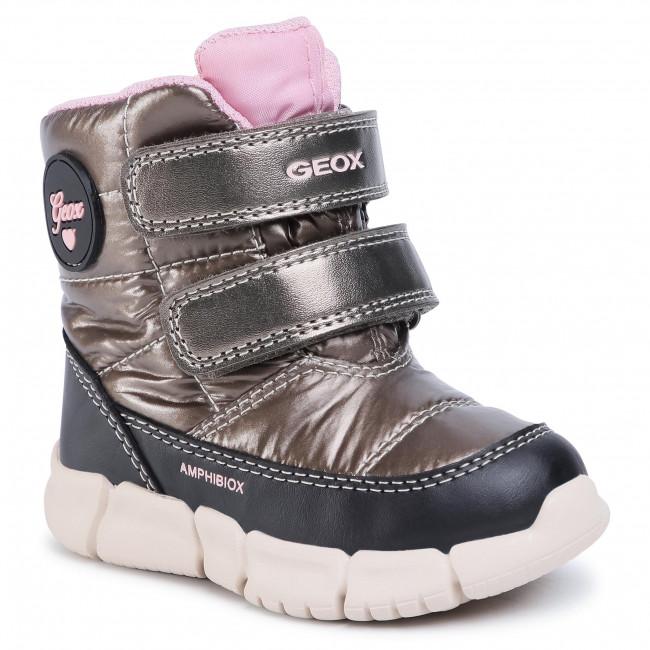 Snow Boots GEOX - B Flexyper G.B Abx B B043QB 0LUBC C1X9B M Smoke Grey/Black