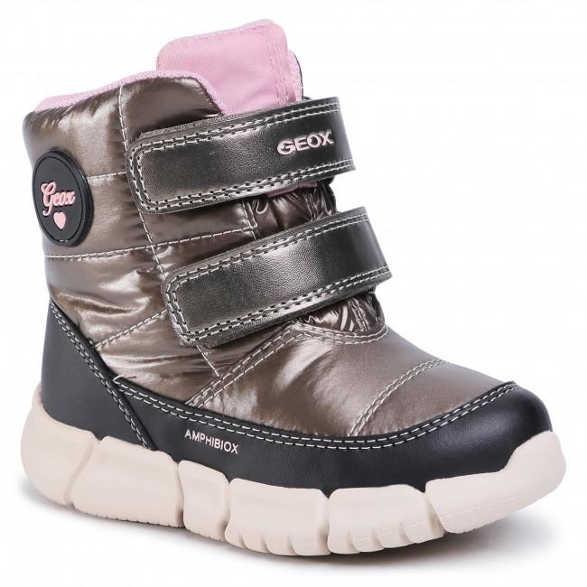Snow Boots GEOX - B Flexyper G.B Abx B B043QB 0LUBC C1X9B S Smoke Grey/Black