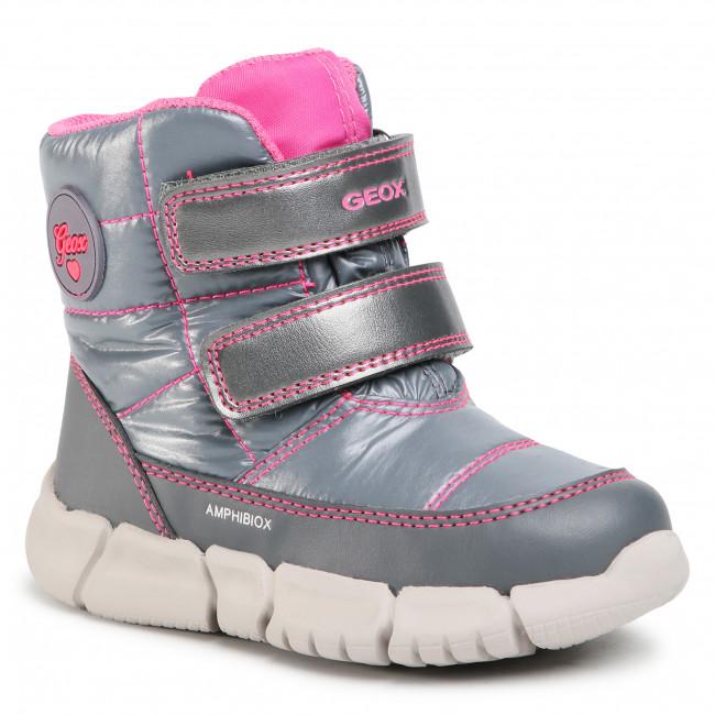 Snow Boots GEOX - B Flexyper G.B Abx B B043QB 0LUBC C1007 S Silver