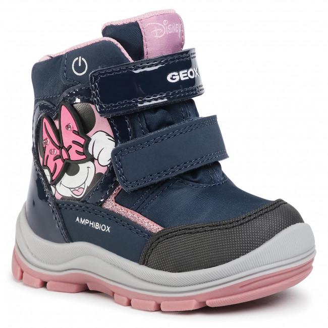 Snow Boots GEOX - B Flanfil G.B Abx C B043WC 0FU50 C4002 M Navy
