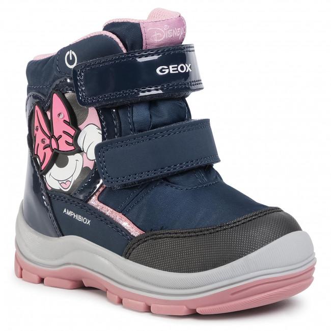 Snow Boots GEOX - B Flanfil G.B Abx C B043WC 0FU50 C4002 S Navy