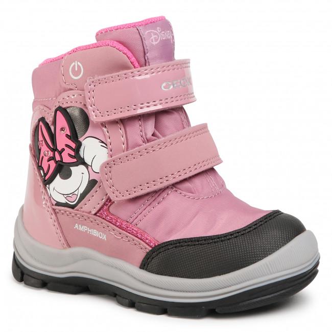 Snow Boots GEOX - B Flanfil G.B Abx C B043WC 0FU50 C8011 M Rose