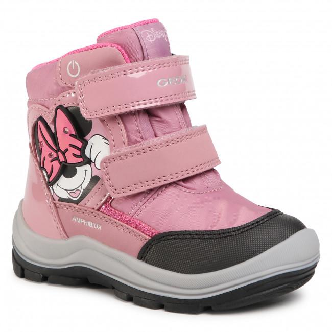 Snow Boots GEOX - B Flanfil G.B ABX C B043WC 0FU50 C8011 S Rose