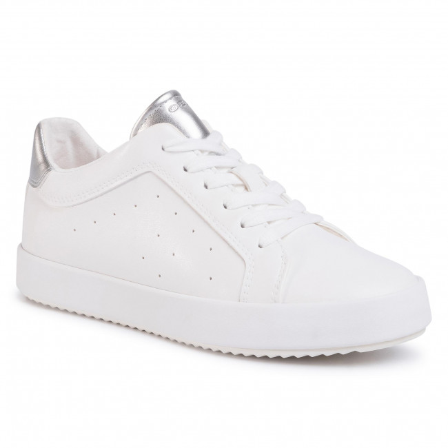 Sneakers GEOX - D Blomiee C D026HC 054AJ C1151 Optic White/Silver