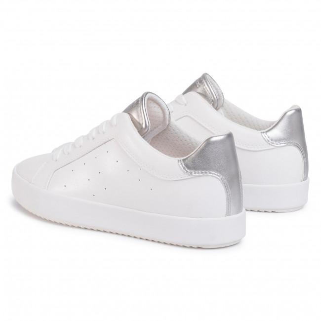 Drama Susurro preocupación  Sneakers GEOX - D Blomiee C D026HC 054AJ C1151 Optic White/Silver -  Sneakers - Low shoes - Women's shoes | efootwear.eu