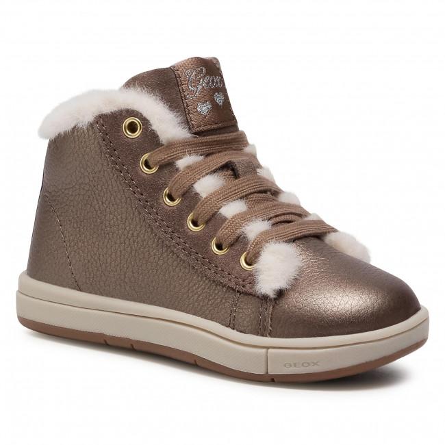 Boots GEOX - B Trottola G.A B044AA 000AK C9006 S Smoke Grey