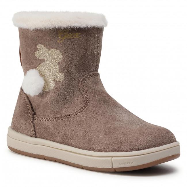 Knee High Boots GEOX - B Trottola G. C B044AC 00022 C9006 S Smoke Grey