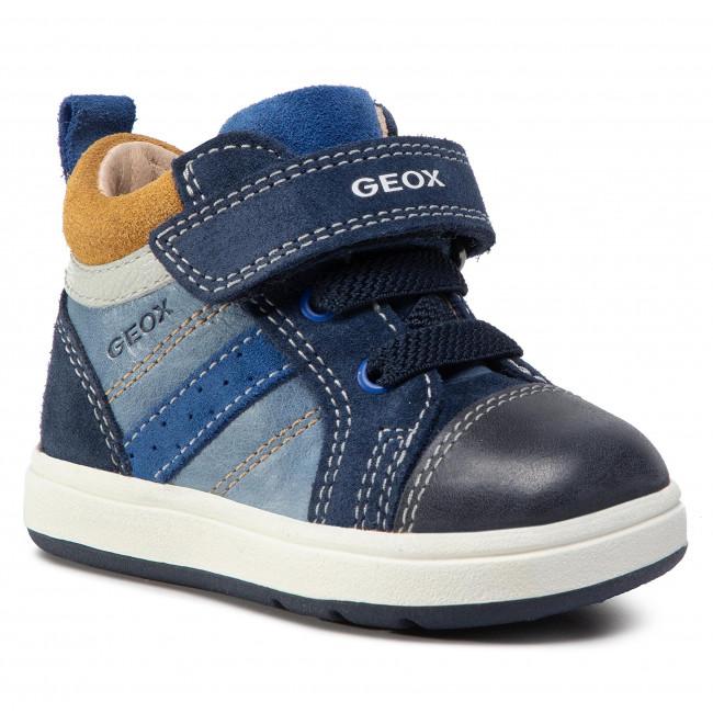 Boots GEOX - B Biglia B. A B044DA 0CL22 C4368 Blue/Ochreyellow