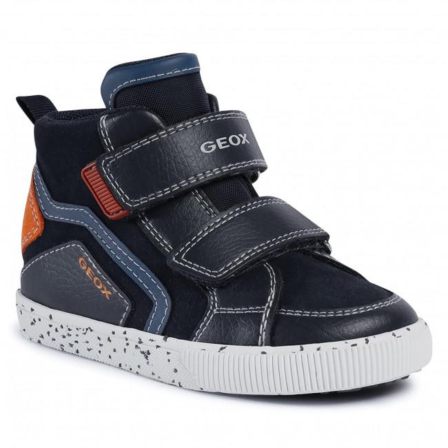 Boots GEOX -  B Kilwi B. C B04A7C 022BU C0820 S Navy/Orange