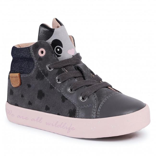 Boots GEOX - B Kilwi G. C B04D5C 02285 C9002 S Dk Grey