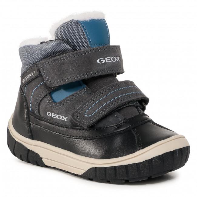 Snow Boots GEOX - B Omar B.Wpf B B942DB 022FU C0250 S Dk Grey/Azure