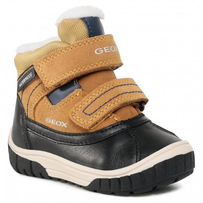 Snow Boots GEOX - B Omar B.Wpf B B942DB 022FU C0296 M Yellow/Blue