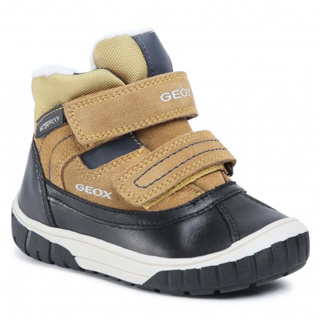 Snow Boots GEOX - B Omar B.Wpf B B942DB 022FU C0296 S Yellow/Blue