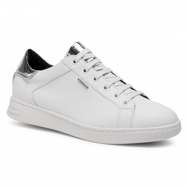 Trainers GEOX - D Jaysen B D041BB 0856P C0007 White/Silver