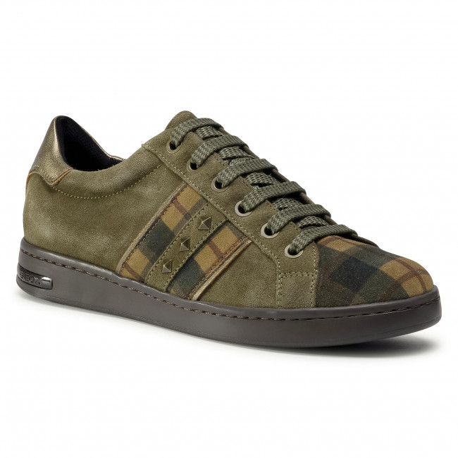 Trainers GEOX - D Jaysen C D041BC 022BS C3005 Olive