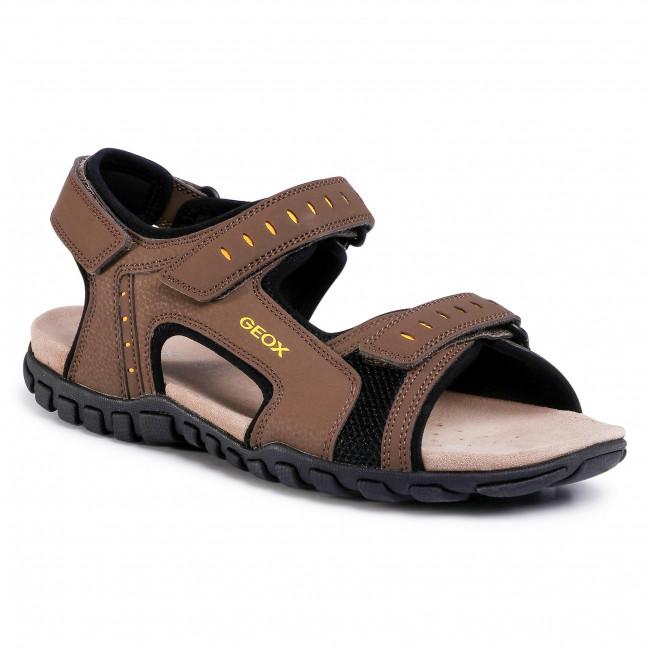 Sandals GEOX - U Sand. Mito A U02Q2A 000CE C6005 Chocolate