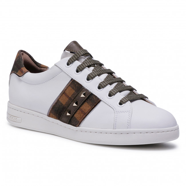 Trainers GEOX - D Jaysen C D041BC 085BS C0167 White/Camel