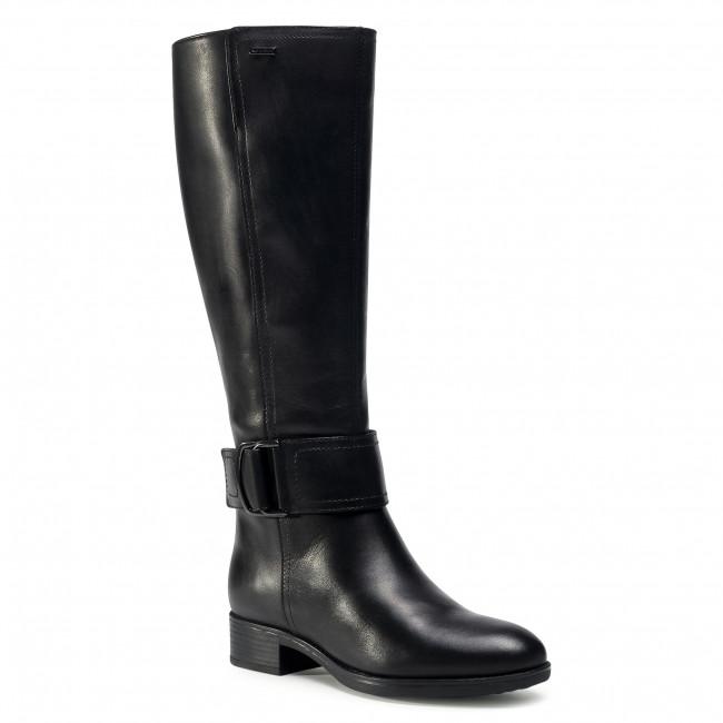 Knee High Boots GEOX - D Felicity Np Abx C D04BLC 00043 C9999  Black