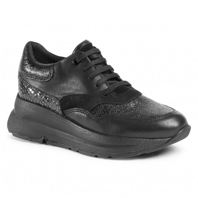 Trainers GEOX - D Backsie E D04FLE 085CF C9997  Black