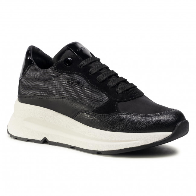 Trainers GEOX - D Backsie B Abx B D04FP B0FUFE C9999 Black