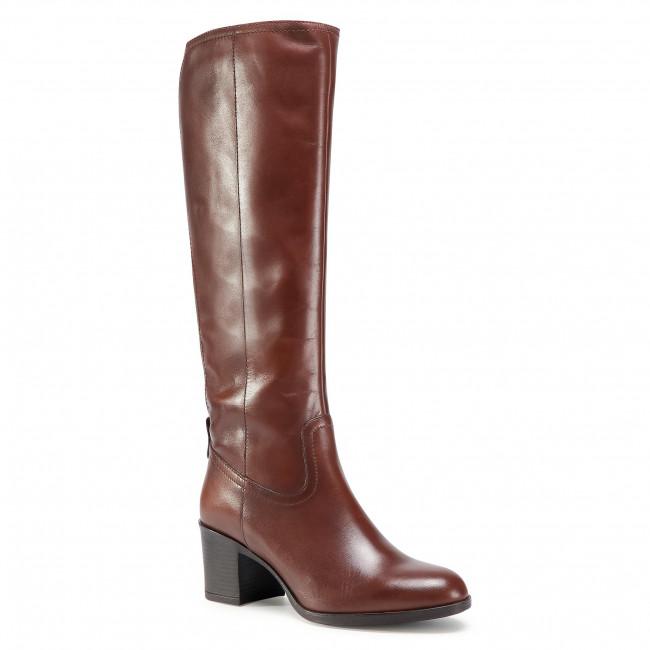 Knee High Boots GEOX - D New Asheel D D04FSD 00043 C0013  Brown