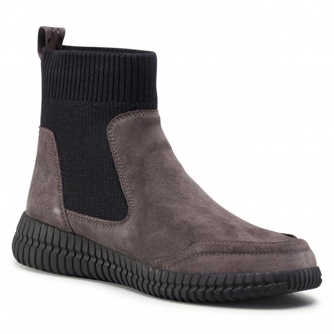 Chelsea boots GEOX - D Noovae A D04GAA 0226K C0062 Dk Grey/Black